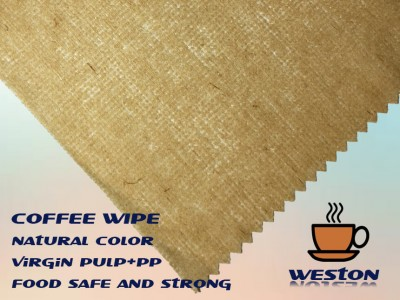 HACCP Colorant Free Spunlace Non-Woven Coffee Cloths