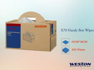 Weston X70 Industrial Wipes Handy Box Wipers