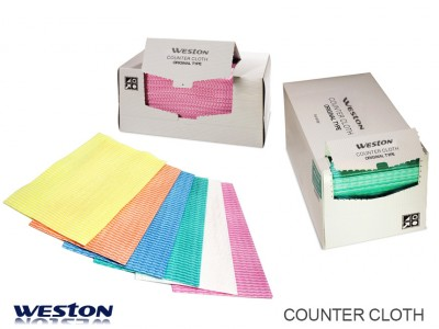 Weston spunlace counter cloth wipes disposable wipes